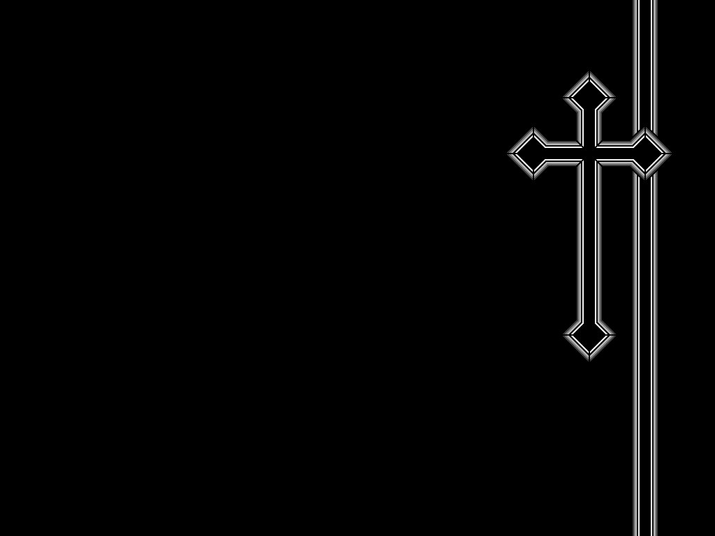 Black Cross Wallpaper By ORANGEMAN80
