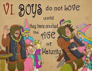 Rules 06: Boys do not Love until...