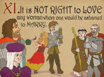 Rules 11: It is not right... by JD-Kloosterman