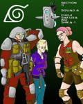 Section 11--Choji, Ino, Sakura, Shika. by JD-Kloosterman