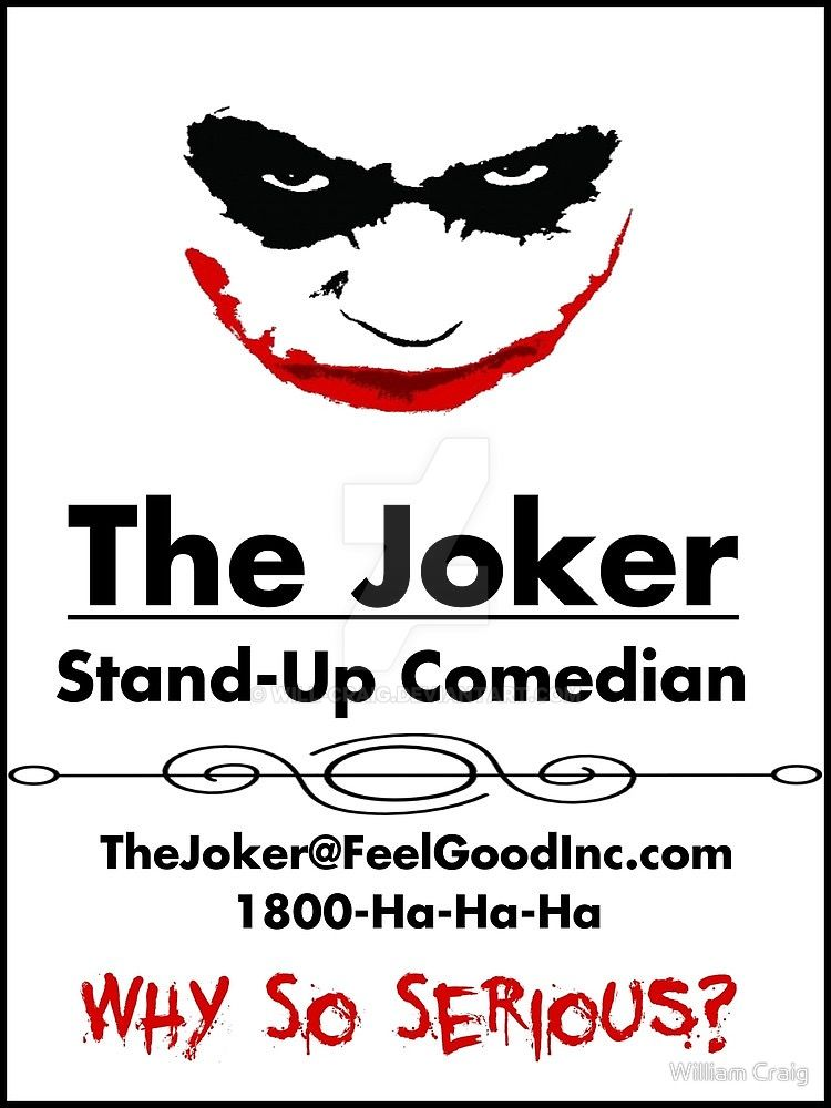 The Joker\'s Business Card by Will-Craig on DeviantArt