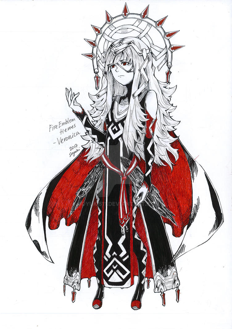 Veronica - Fire Emblem Heroes by Soyuki511