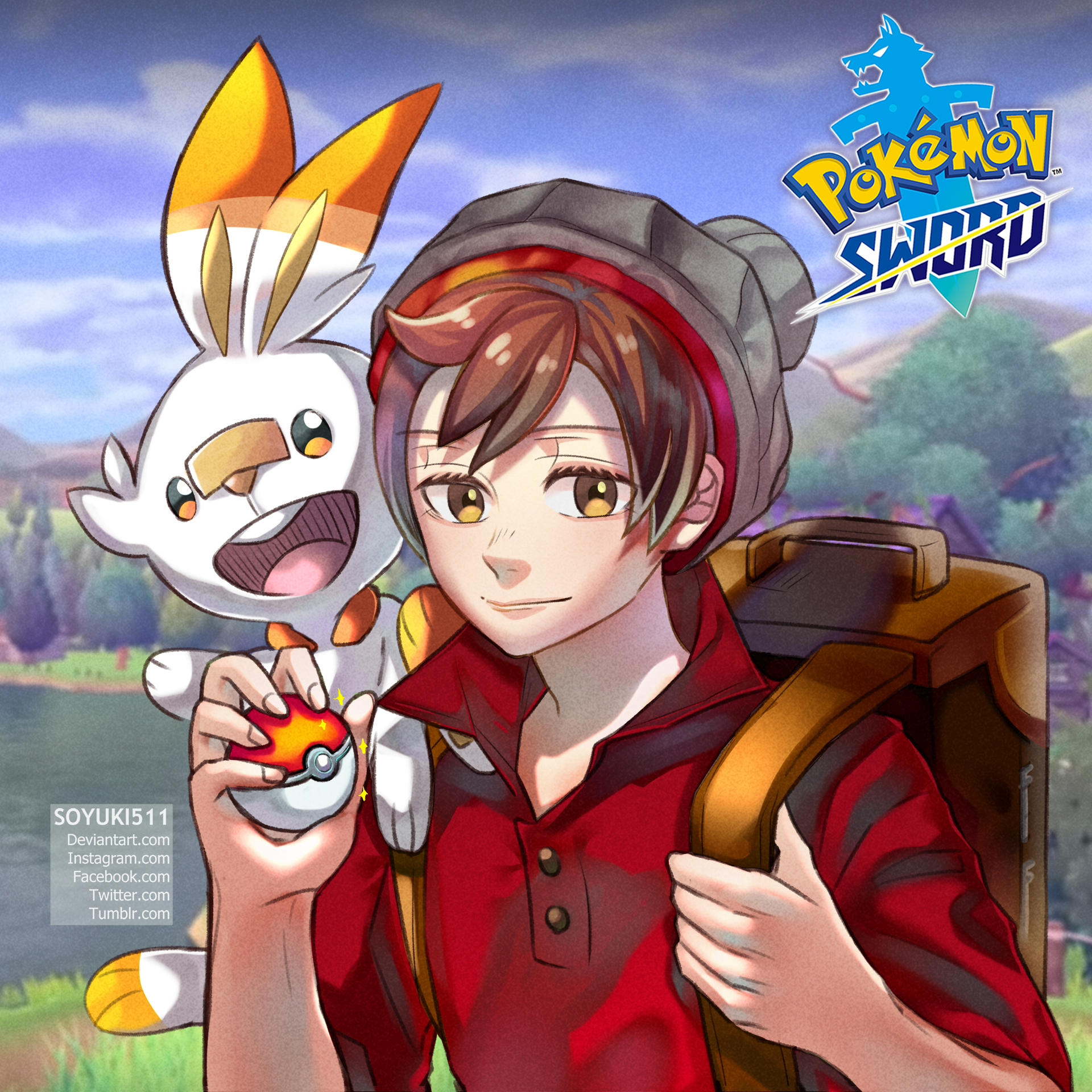 Pokemon Sword And Shield By Soyuki511 On Deviantart