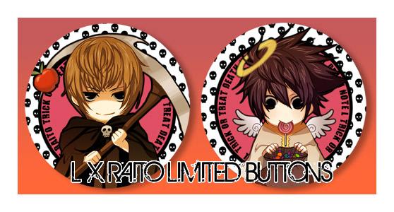 + L x RAITO HALLOWEEN SET+ by goku-no-baka