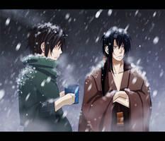 +Arent you cold.. by goku-no-baka