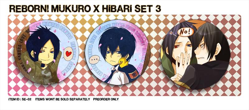 +KHR - Mukuro x Hibari SET3+ by goku-no-baka