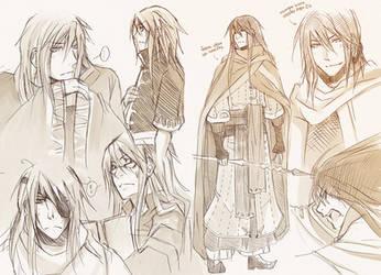 +Kerin - random sketches+ by goku-no-baka
