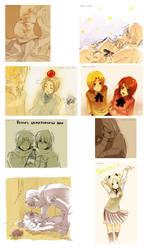 + APH Various Countries - BL + by goku-no-baka