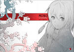 +Monochrome Sketchbook Cover+ by goku-no-baka
