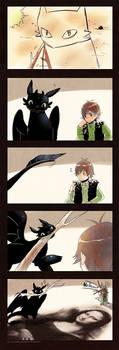 +HTTYD -Toothless Drawing+