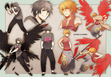 +OC- Koshi vs Rinri+