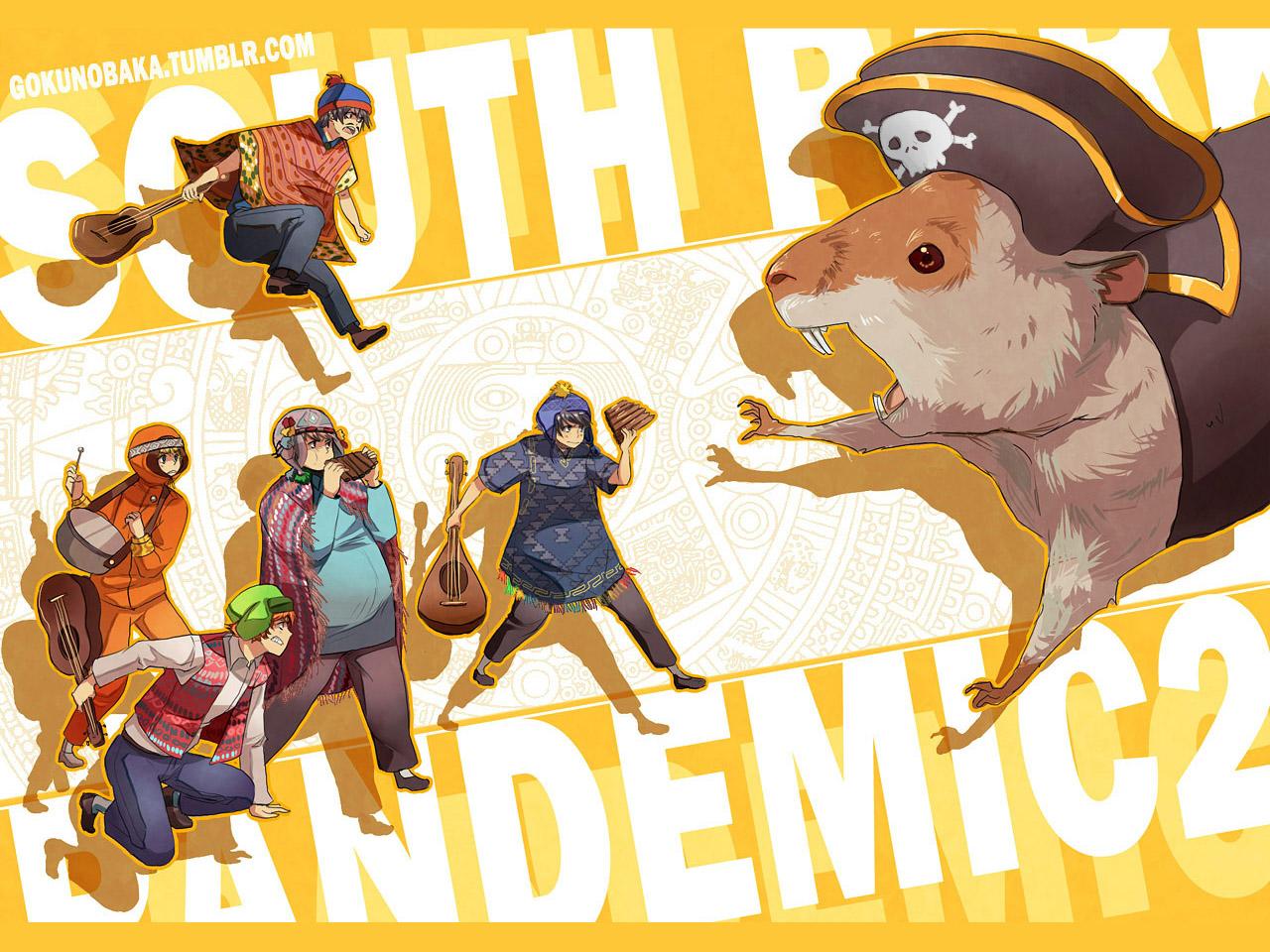 +SOUTHPARK -Pandemic2+ by goku-no-baka