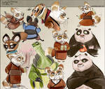 +Kung Fu Panda - Sketch -Repost+ by goku-no-baka