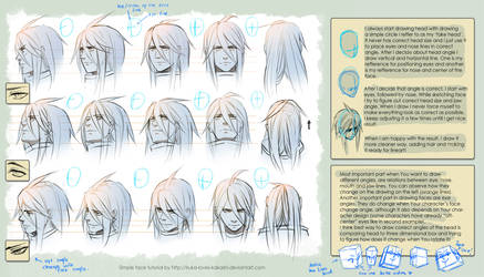 + Tutorial - Drawing heads + by goku-no-baka