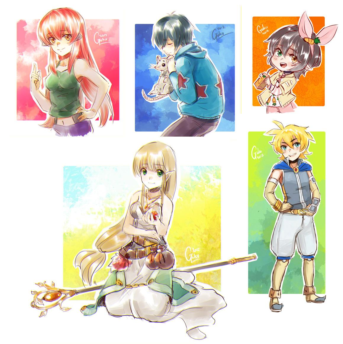 +Sketch comission Batch 2+ by goku-no-baka