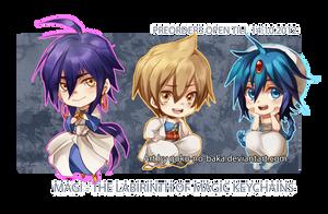 +Magi - The Labyrinth of Magic Keychains+ by goku-no-baka