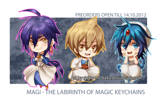 +Magi - The Labyrinth of Magic Keychains+ by goku-no-baka