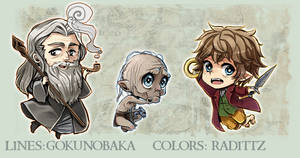 Hobbit Kawaii Keychains - PREORDERS OPEN
