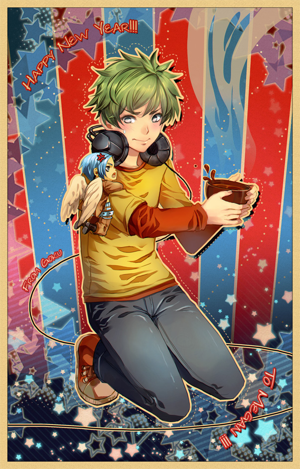 + SS - Hands off my choco + by goku-no-baka