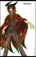 ++Wizard Chardesign-Ragnarok++ by goku-no-baka