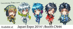 + Dramatical Murder - Japan Expo +