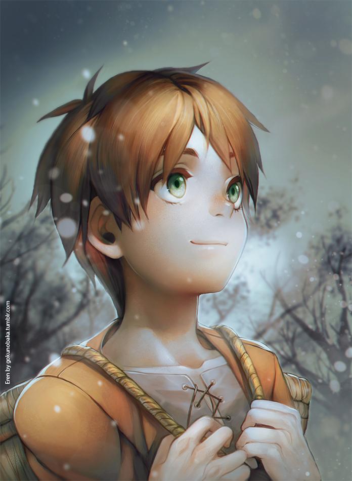+SNK - Snowflakes+ by goku-no-baka