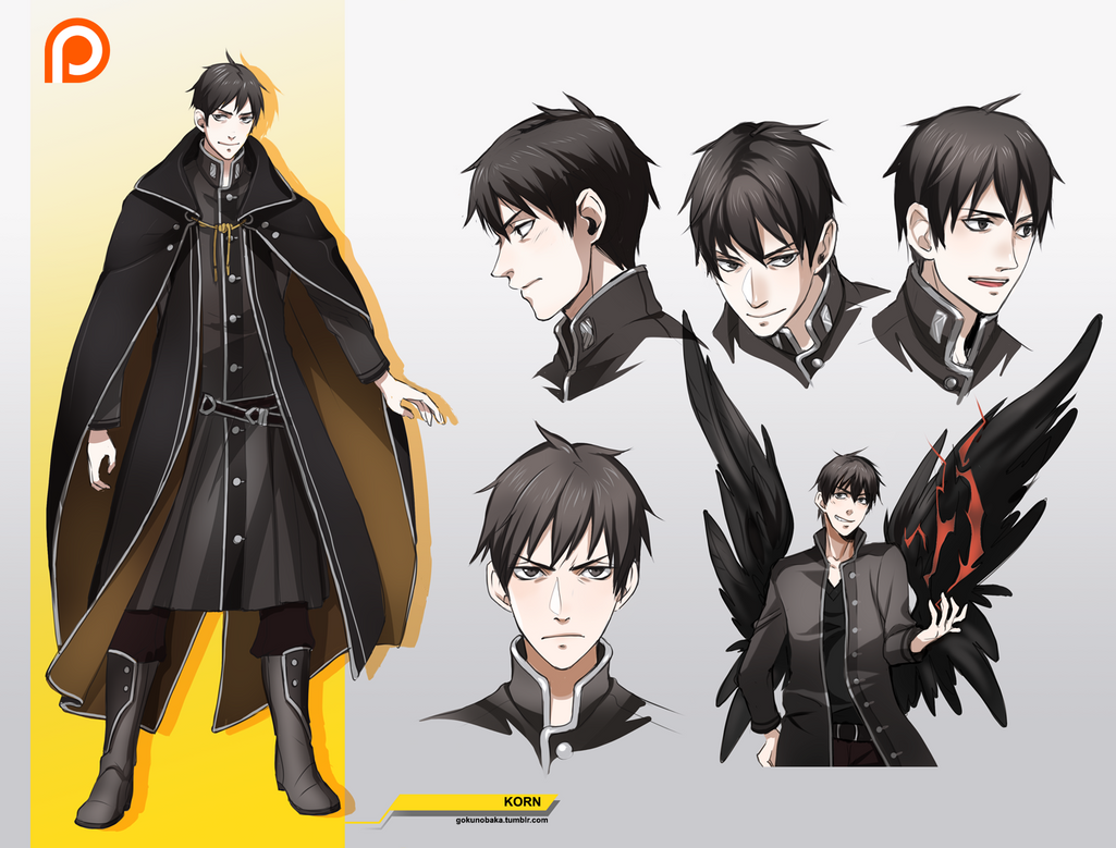 Design Anime Character Free : Korn character design by goku no baka on deviantart