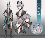 + Deiryn - character design +