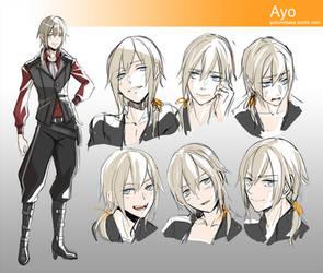 +Ayo - Old redesign+ by goku-no-baka
