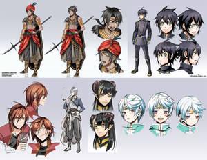 +Commission OCs and Fan art designs+