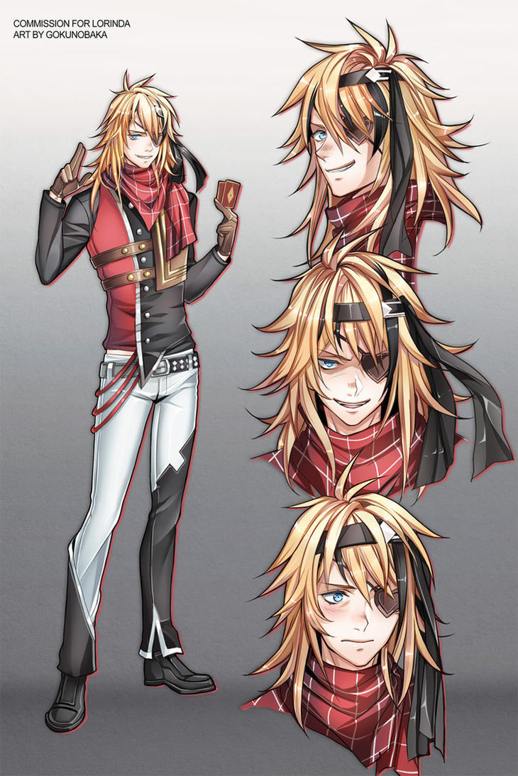 Character Design Commission Price : Character design commission for lorinda by goku no baka
