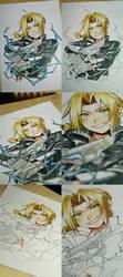 +Edward Elric - Copic+ by goku-no-baka