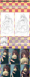 +LINEART tutorial and WIP + by goku-no-baka