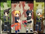 +KakaIru-SasuNaru Wallpaper+