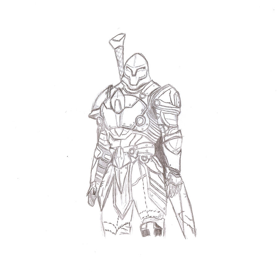 Infinity blade main by ichigo442 on deviantart for Infinity coloring pages