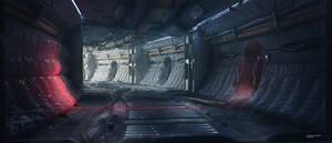 Sci-fi interior concept Awakening