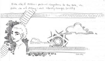 Political Philosophy Pen Scribbles