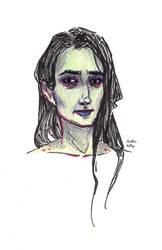 American Gods - zombie wife