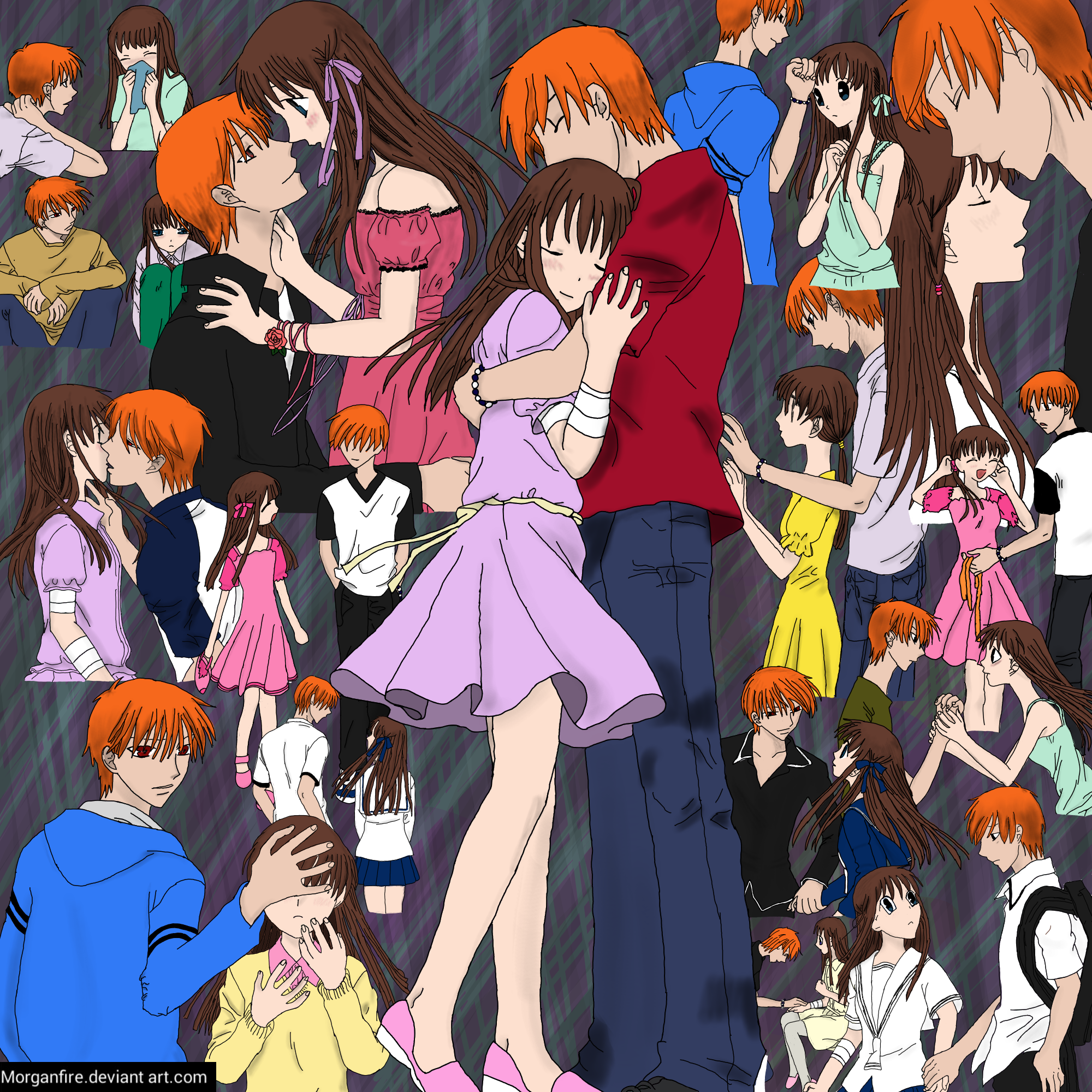 Fruits Basket Where To Watch: Kyo X Tohru By Morganfire On DeviantArt