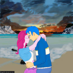 Pinkie and Blue