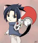Go ahead, Sasuke won't bite...