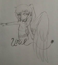 Sketch - Uriel by A-2O