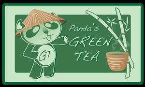 Panda's GREEN TEA
