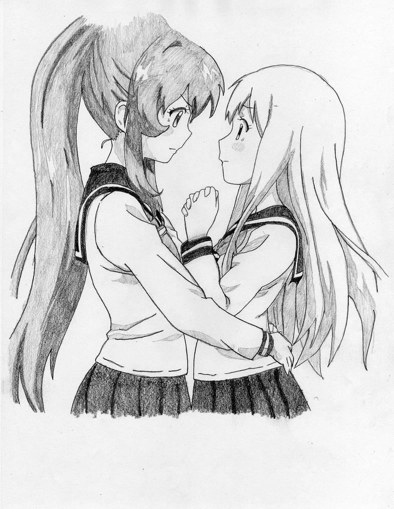 Yuru Yuri Ayano and Kyoko To 4 by Chito1004