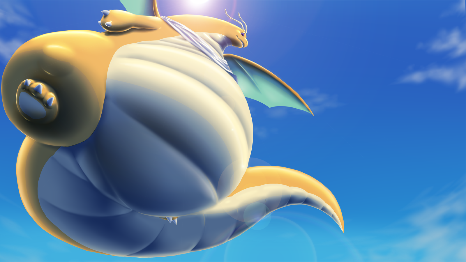 Pear Dragonite by GrineX