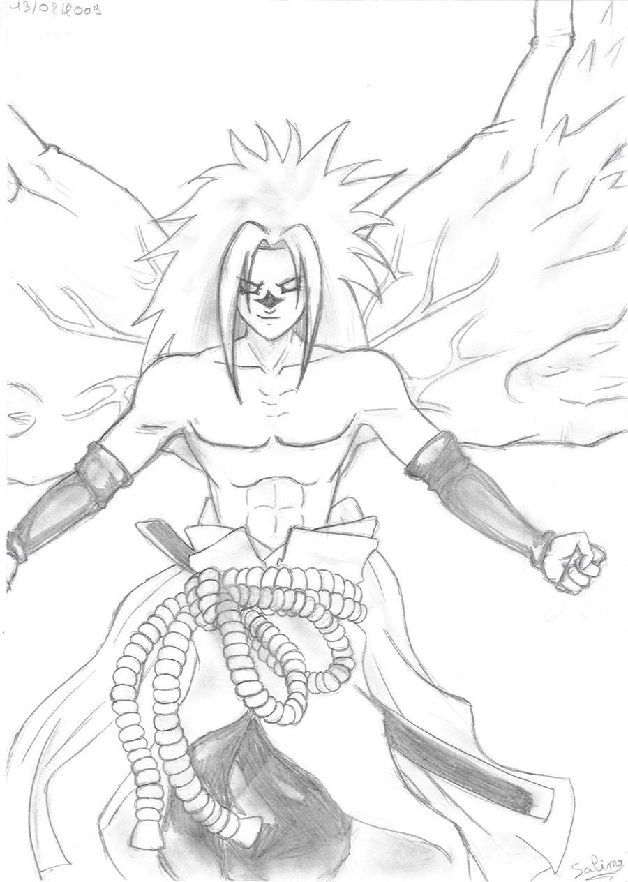 Dessin De Manga Sasuke