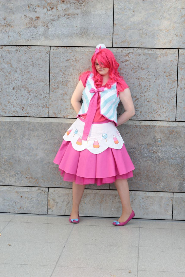 Pinkie Pie Cosplay by Celestia-In-Love