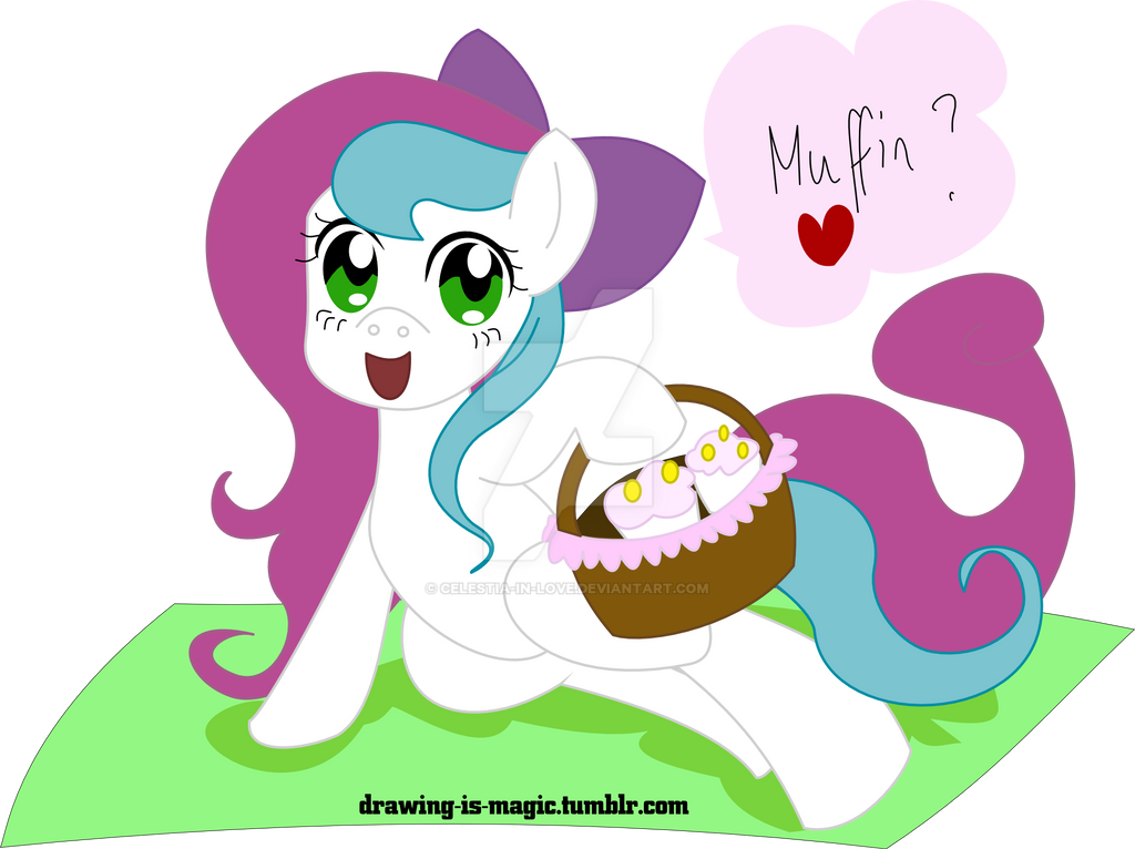 Muffins? by Celestia-In-Love