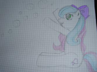 Velvet with bubbles by Celestia-In-Love
