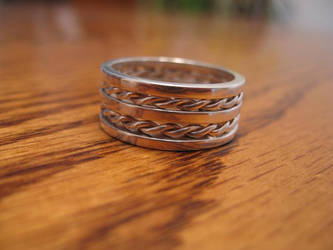 Twisted Wire Ring by everlink69